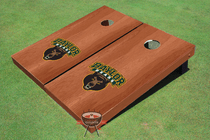Baylor University Solid Rosewood Custom Cornhole Board
