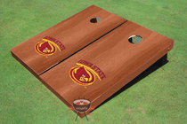 Iowa State University Cyclone Solid Rosewood Custom Cornhole Board