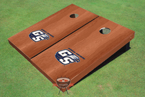 Georgia Southern University Solid Rosewood Custom Cornhole Board