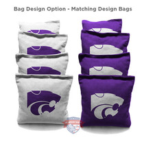 Kansas State University Cornhole Bags