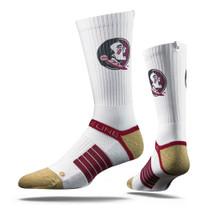Florida State University Tan Seminole  Strapped Fit 2.0 Socks