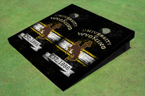 University Of Wyoming Cowboys Solid EST Custom Cornhole Board