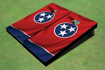 Tennessee State Flag Custom Cornhole Board