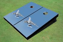 Jet Custom Cornhole Board