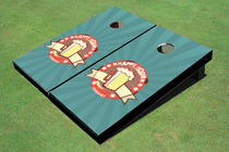 Fairbanks Happy Hour Cornhole Board Set