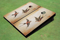 Birds Custom Cornhole Board
