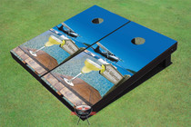 No Worries Cornhole Board Set