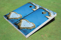 Love Reef Cornhole Board Set