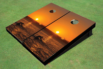 Paddle Out Cornhole Board Set