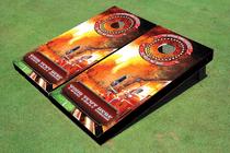 Wild Fire Custom Cornhole Board