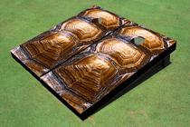 Tortoise Shell Custom Cornhole Board