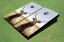 Elk Custom Cornhole Board