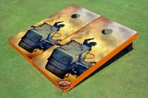 Fire Fighters #2 Custom Cornhole Board
