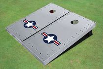 Rivet Air Force Custom Cornhole Board