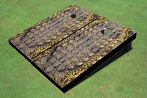 Gator Skin Custom Cornhole Board