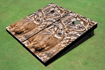 Big Buck Custom Cornhole Board