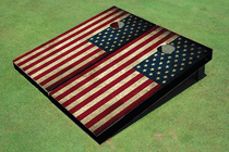 American Flag Cornhole Board set