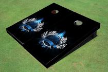 Speed - O - Meter Custom Cornhole Board