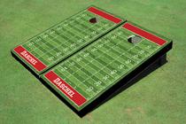Football Field Theme Cornhole Boards
