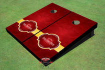 Rose Pedals Wedding Custom Cornhole Board
