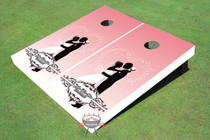 Hug Wedding Custom Cornhole Board