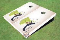 Much Love Wedding Cornhole Board set
