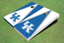 University Of Kentucky Alternating Triangle Cornhole Boards