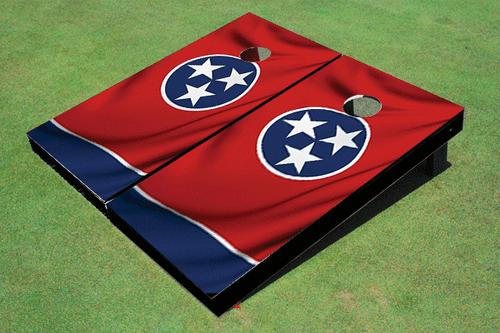 Tennessee State Flag Custom Cornhole Board