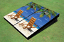 USED - Beach Chair Facing Right Custom Cornhole Board