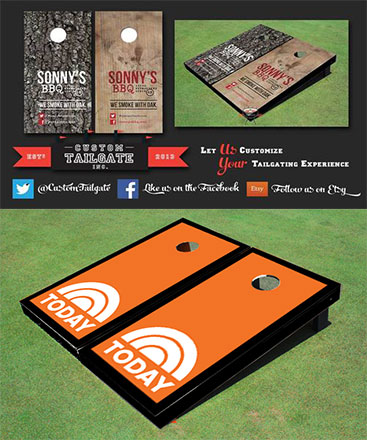 Cornhole Boards for My Business