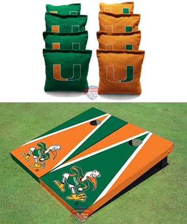 College Themed Cornhole Boards