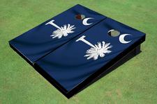 South Carolina State Flag Themed Cornhole Boards