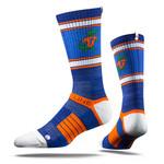 University of Florida Blue Heather Gator  Strapped Fit 2.0 Socks
