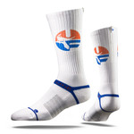 University of Florida Retro Fit Old School Gator Strapped Fit 2.0 Socks