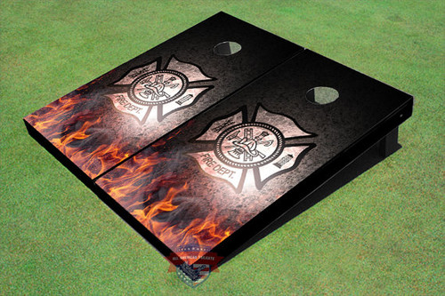 Custom Fire Department General Themed Graphic Cornhole