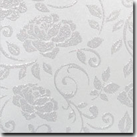"""Glitter Cardstock Peonies Pattern 12"""" x 12"""" cover weight"""
