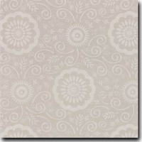 "Portico Pattern Metallic 8 1/2"" x 11"" cover weight Putty on Curious Metallics Lustre"