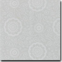 "Portico Pattern Metallic 8 1/2"" x 11"" cover weight Silver on Stardream Silver"