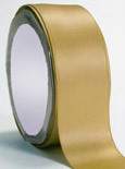 "Reef Gold Double Faced Satin Ribbon 3/8"" x 100 yard spool"