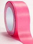 "Shocking Pink Double Faced Satin Ribbon 1/4"" x 100 yard spool"
