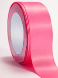 "Shocking Pink Double Faced Satin Ribbon 3/8"" x 100 yard spool"