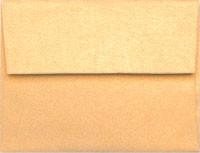 Stardream Amber A-7 Metallic Envelope