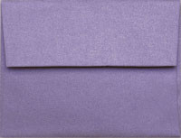 Stardream Amethyst A-7 Metallic Envelope