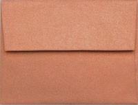 Stardream Copper A-2 Metallic Envelope