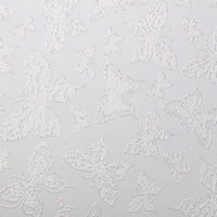 """Glitter Cardstock Butterfly Pattern 12"""" x 12"""" cover weight"""