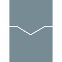"Reverse Pocket Card Holder Metallic 5 1/4"" x 7 1/4"" Folder 10 per package"