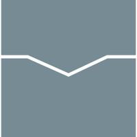 "Reverse Pocket Card Holder Metallic 5 3/4"" x 5 3/4"" Folder 10 per package"