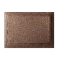 "50 Pack Stardream Metallic Bronze 105 Lb. Cover A2 Imperial Embossed Border Card 4 1/4"" X 5 1/2"""