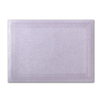 "50 Pack Stardream Metallic Kunzite 105 Lb. Cover A7 Imperial Embossed Border Card 5"" X 7"""