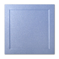 "50 Pack Stardream Metallic Vista 105 Lb. Cover Square Bevel Panel Border Card 6 1/4"" X 6 1/4"""